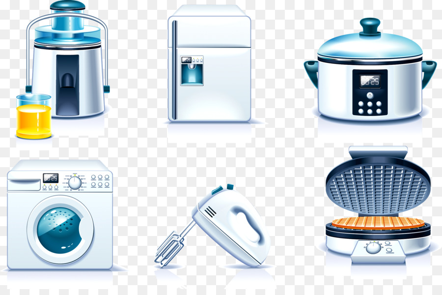 Home appliance Stock photography Royalty-free Clip art - Kitchen ...