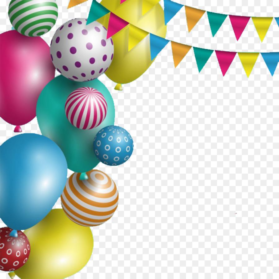 Wedding invitation Birthday cake Greeting card Wish - Balloon ...