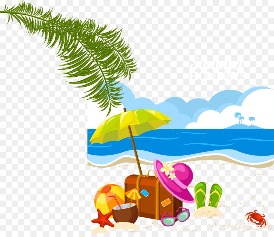 Holiday Summer Vacation Clip Art