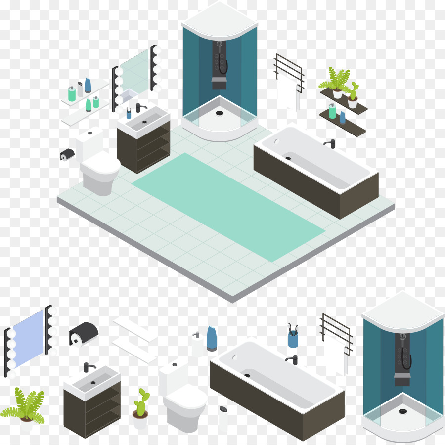 Bathroom Toilet - Vector toilet design png download - 898*896 - Free ...