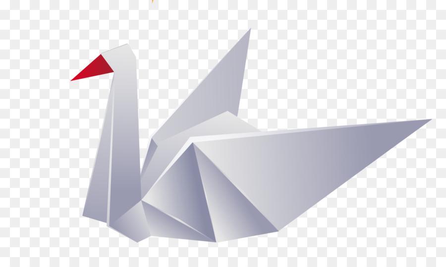 Crane Origami Paper Origami Paper White Origami Paper Crane Png