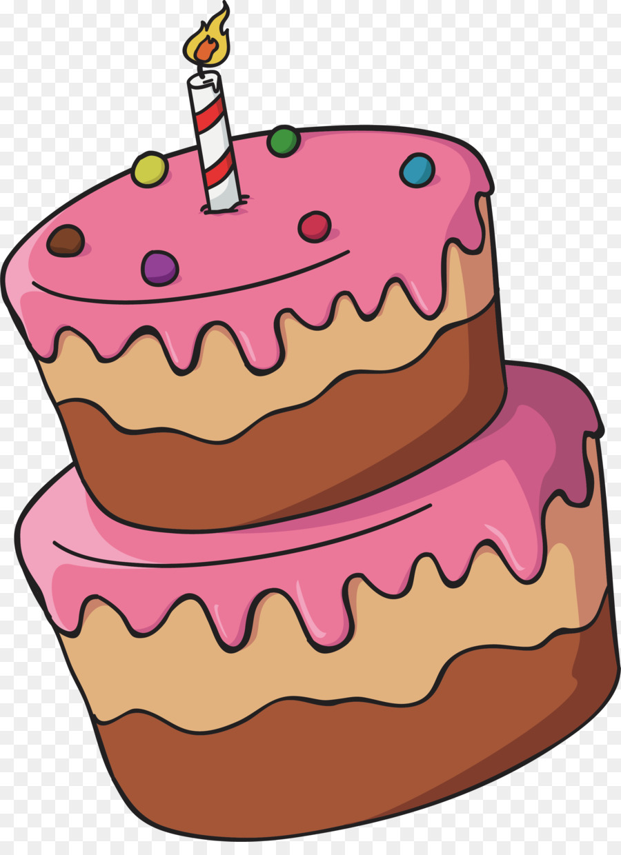 Birthday Cake Drawing png download - 2279*3091 - Free