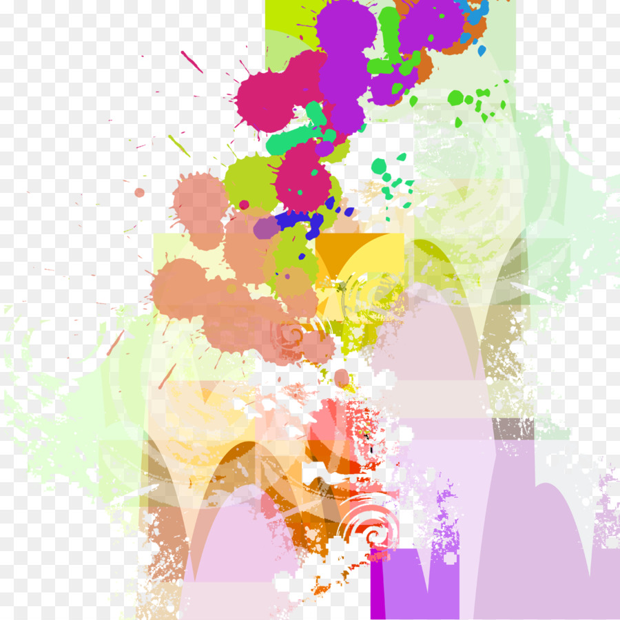 Graphic design Graffiti Illustration - Graffiti color splash png ...