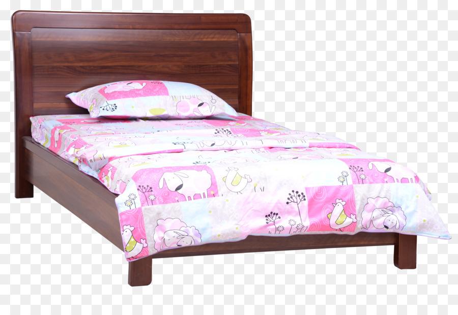 Marco de la cama de la hoja de Cama de Madera Almohada - Cama de ...