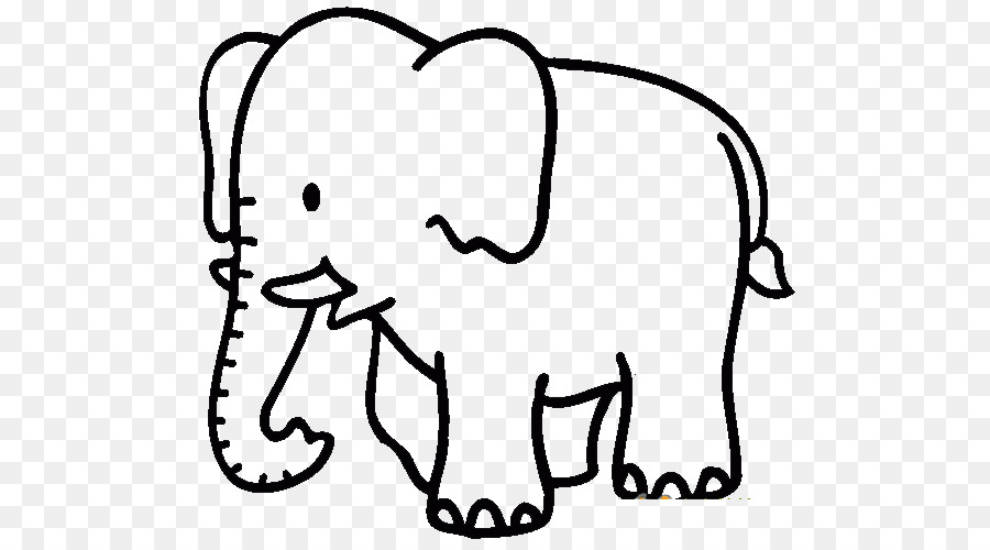 African elephant Coloring book Child Clip art - Elephant png ...