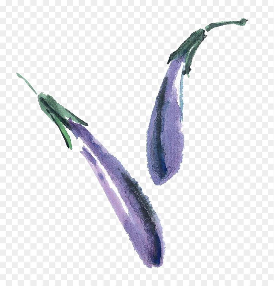 U513fu7ae5u56fdu753b Patlıcan Mürekkep Gongbi Sebze Boyama Yıkama