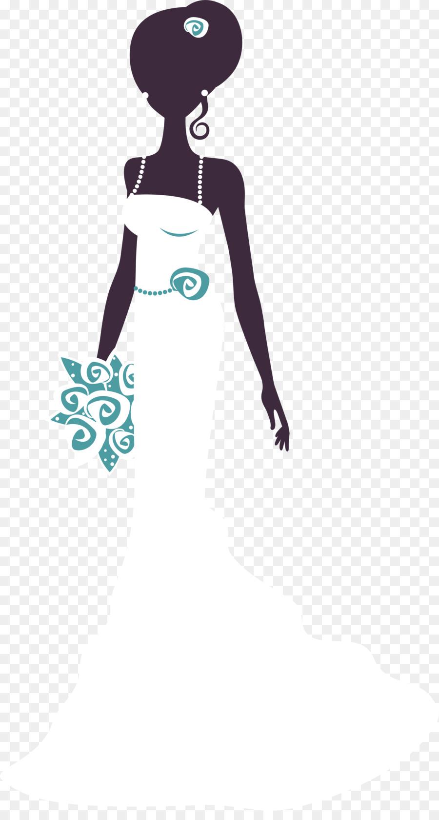 Pengantin Sarapan Siang Akhir Pekan Wedding Clip Art Hitam