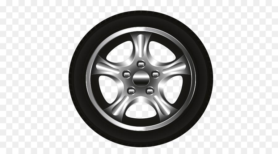 Car Tire Code Rim Cartoon Tires Png Download 500 500