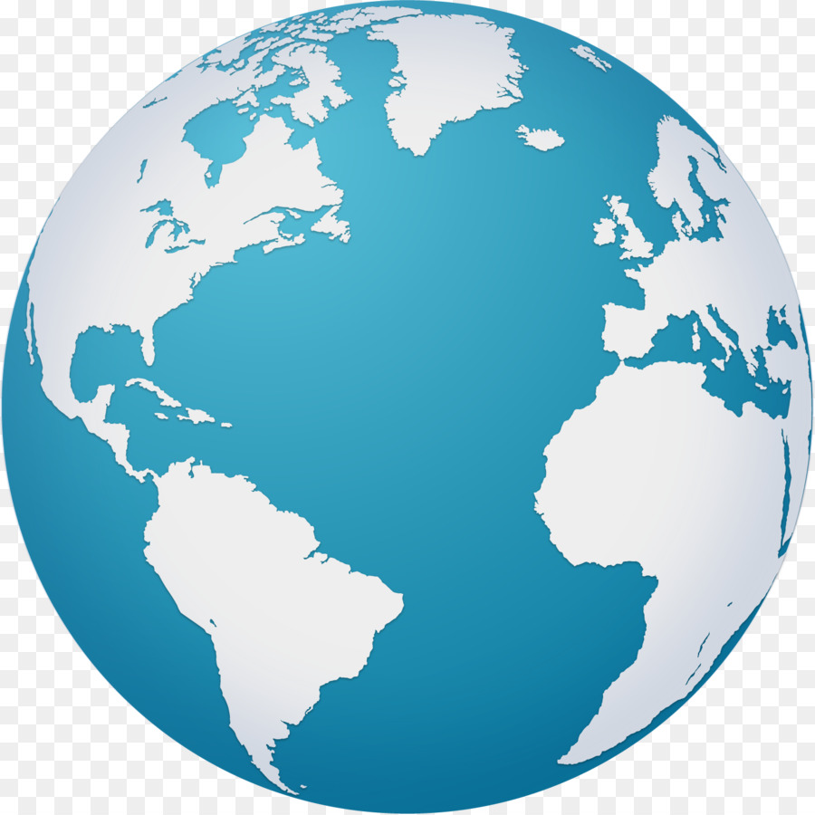 Earth globe world map vector hand painted blue earth png download earth globe world map vector hand painted blue earth gumiabroncs Image collections