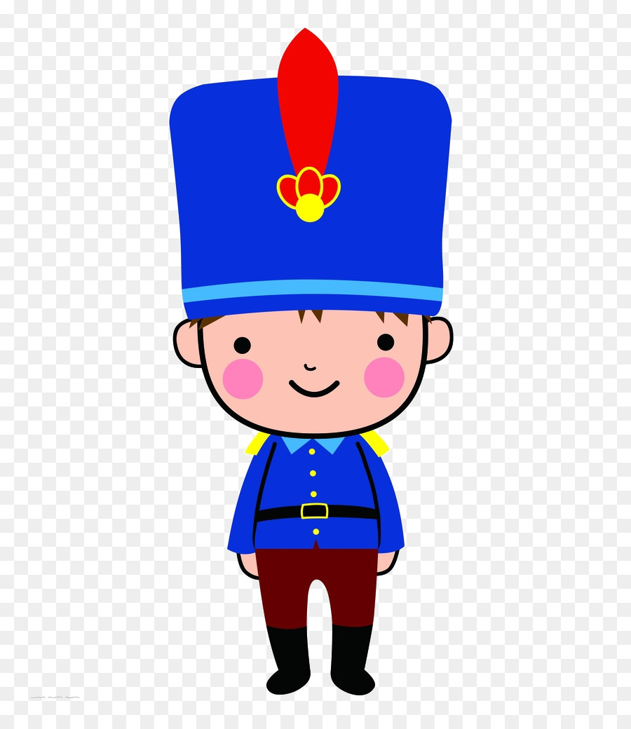 United Kingdom Cartoon Soldier Blue Soldier Png Download 831