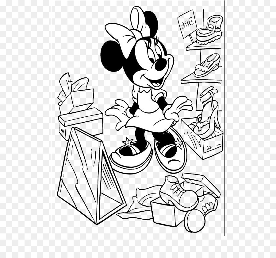 Minnie Mouse Daisy Duck Mickey Mouse Coloring book Drawing - Minnie ...