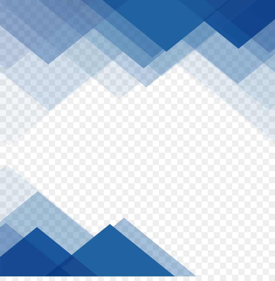 wallpaper blue triangular border png download 3060