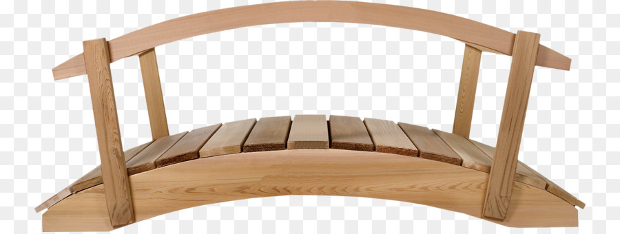 Garden Bridge Cedar Wood Handrail Small Wooden Bridge