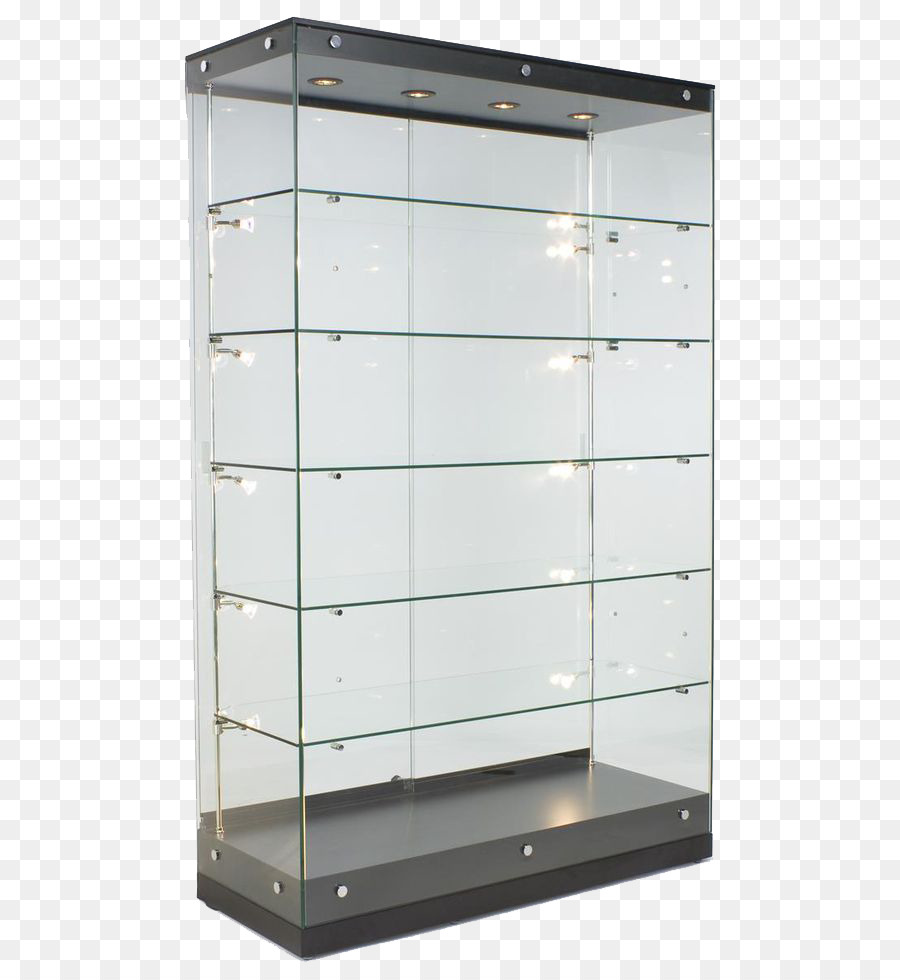 Display Case Glass Cabinetry Curio Cabinet Wall   Modern Glass Display Rack