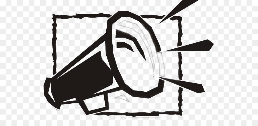 Loudspeaker Clip Art Black Horn Graffiti Png Download 602438