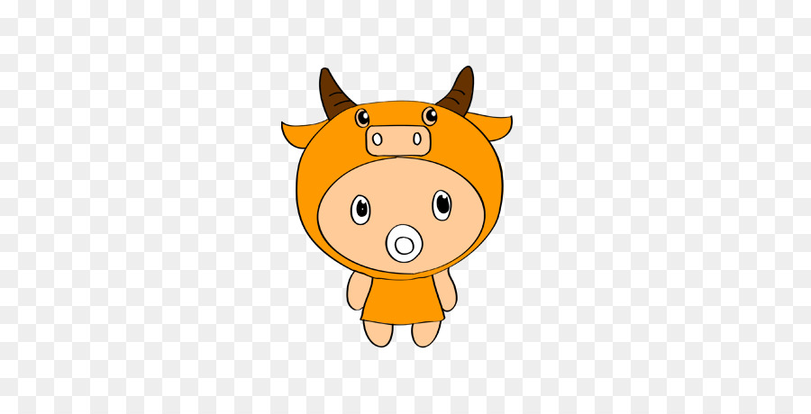Chinese New Year Ox png download - 567*454 - Free