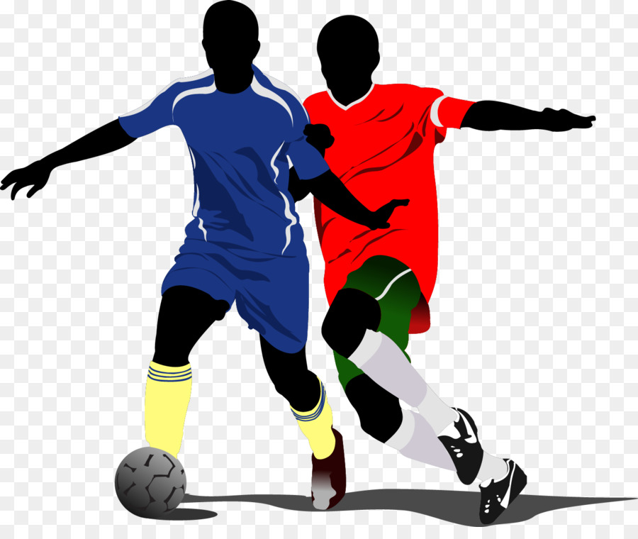 FIFA World Cup Football Player Illustration