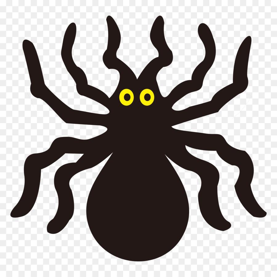 Arana Divertidas Calabazas De Halloween Halloween Dibujos Animados - Dibujos-araas-halloween