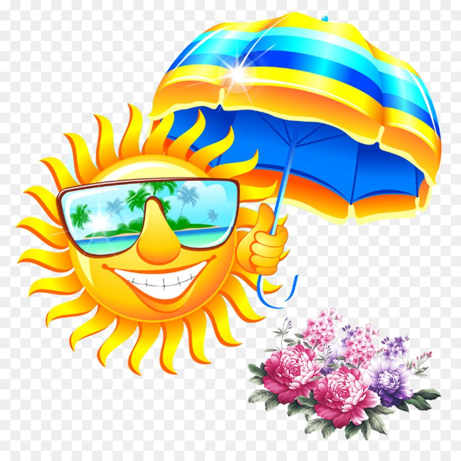 Summer Sunglasses Clip art - Fight sun umbrella sun png ...