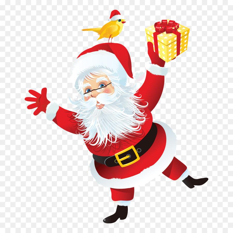 Santa Claus Santas Christmas Presents Christmas ornament - Santa ...