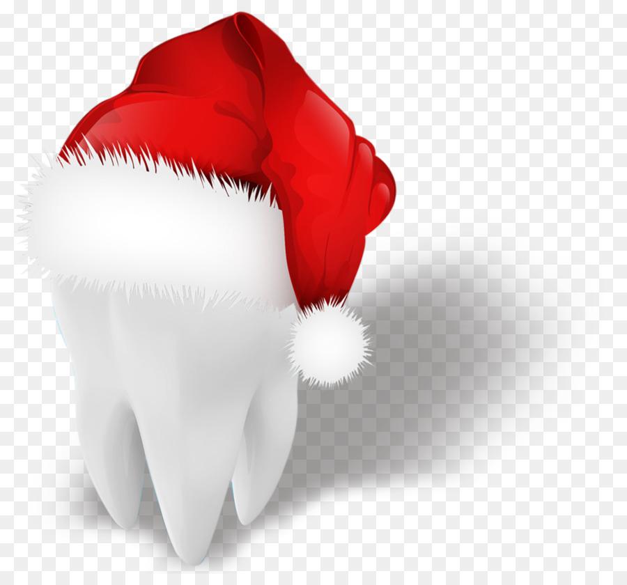 Santa Claus Christmas If(we) - Creative hat teeth png download ...