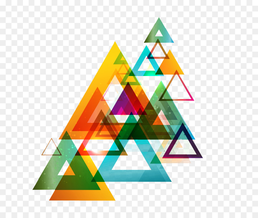 Triangle Background png download - 800*757 - Free