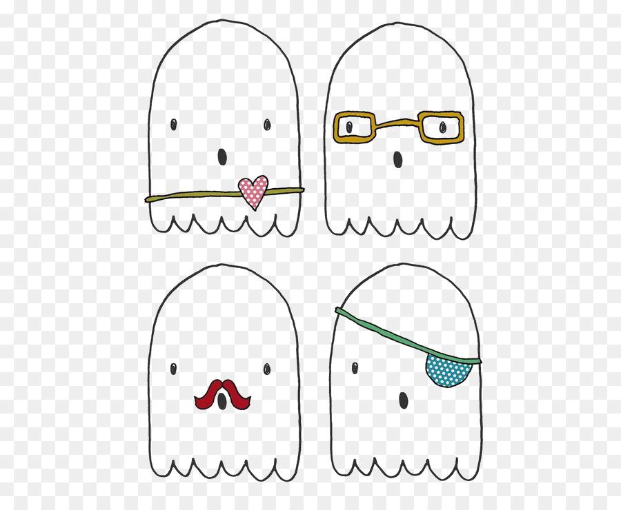 Fantasma De Halloween De Papel Yu016brei Dibujo - Dibujos animados ...