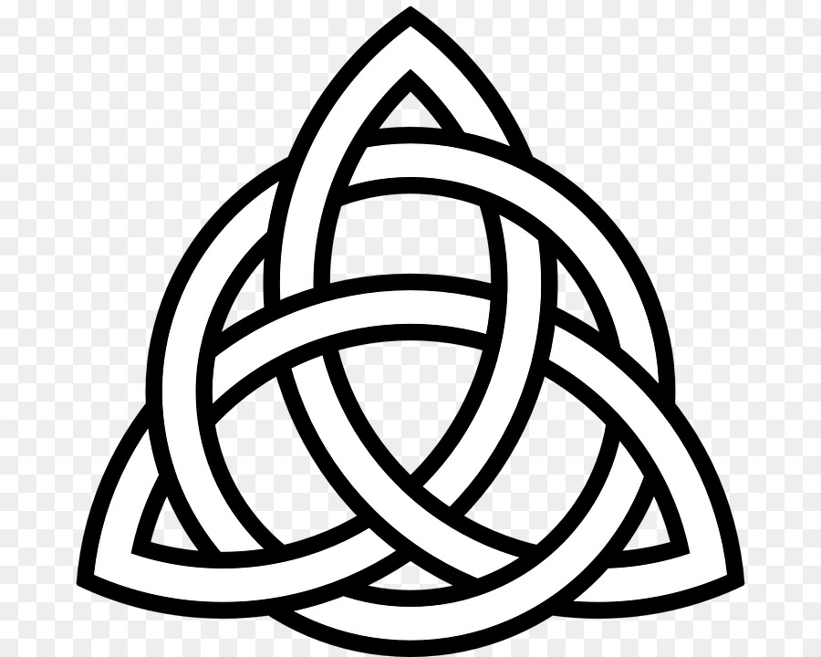 Celtic Knot Symbol Triquetra Hope Celts Triangle Symbol Png