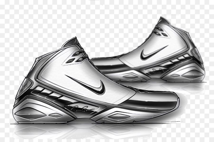 Amazing Shoe Nike Air Jordan Sneakers Drawing   Fashion Silver Basketball Shoes