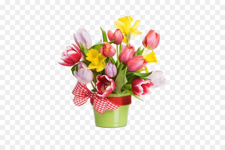 Flowerpot Stock photography Flower bouquet Clip art - Beautiful ...