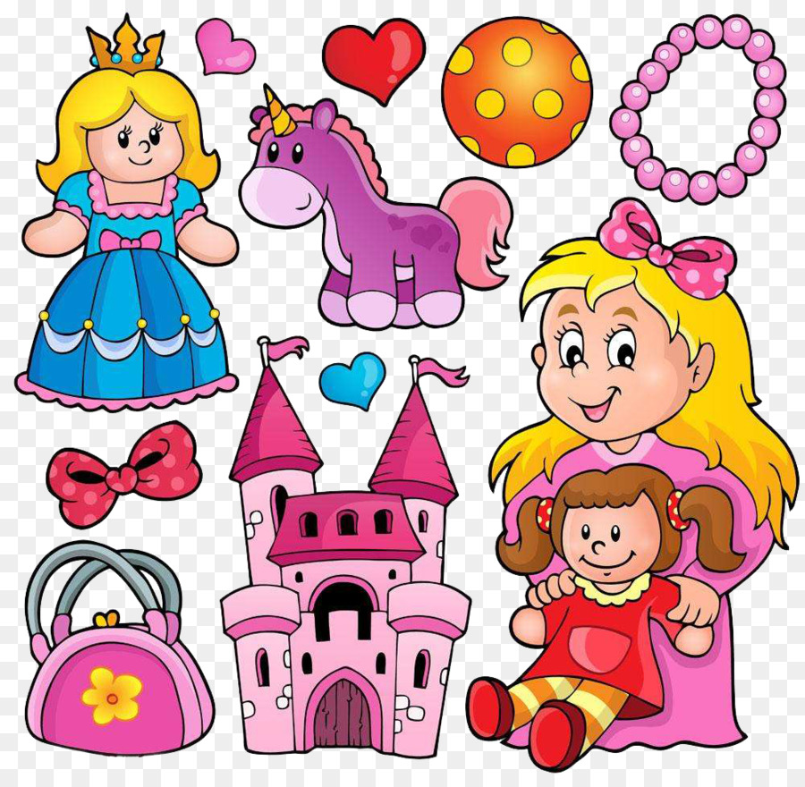 Mainan Royalty Free Clip Art Tangan Dicat Princess Rok Mengembang