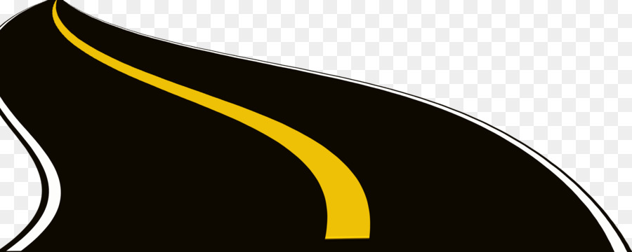 D Car Logo >> Road Drawing Highway Animation - Beautiful black cartoon road png download - 3543*1417 - Free ...