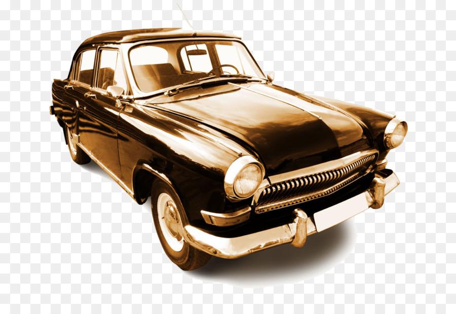 GAZ-21 Car GAZ-24 Wallpaper - Old classic cars image png download ...