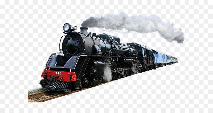 Train Rail Transport Steam Locomotive Black Train 663