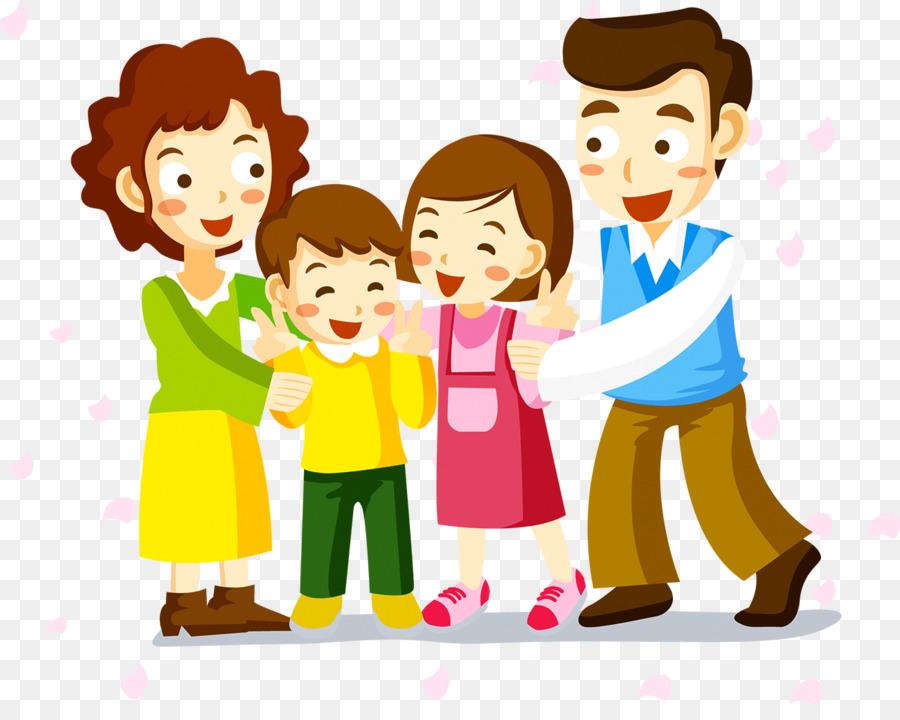 Gambar Animasi Keluarga Kecil Yang Bahagia Braderva Doceinfo