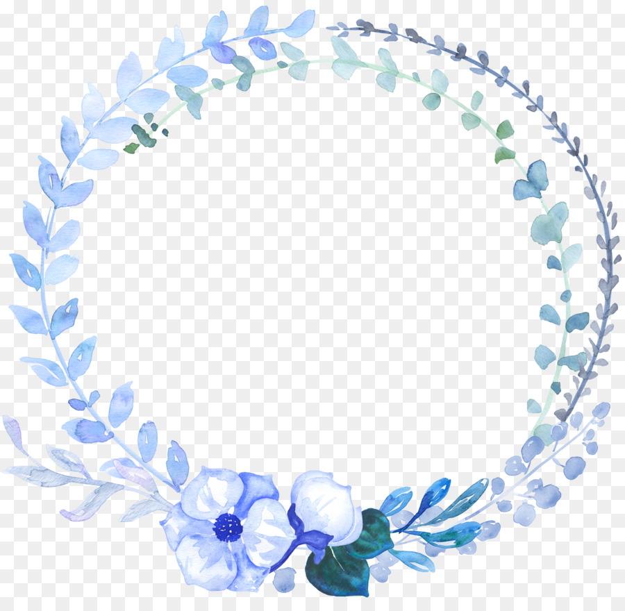 Blue flower watercolor painting hand painted blue garland png blue flower watercolor painting hand painted blue garland izmirmasajfo