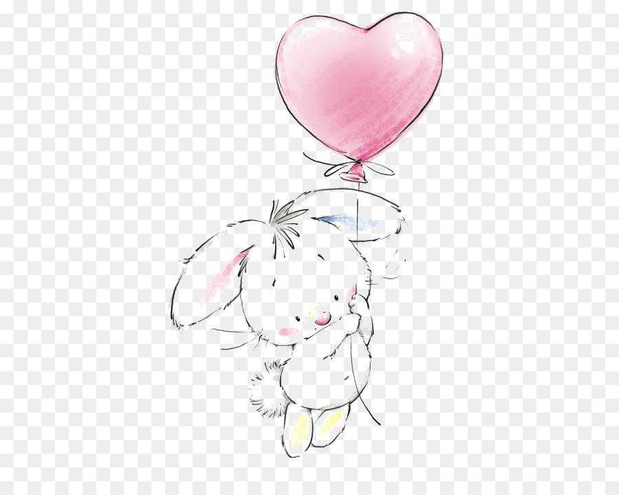 Easter Bunny Birthday Cake Rabbit Drawing Clip Art Rabbit Png