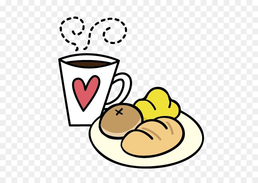 Fruhstuck Kaffee Lebensmittel Brot Clip Art Cartoon Cute Fruhstuck
