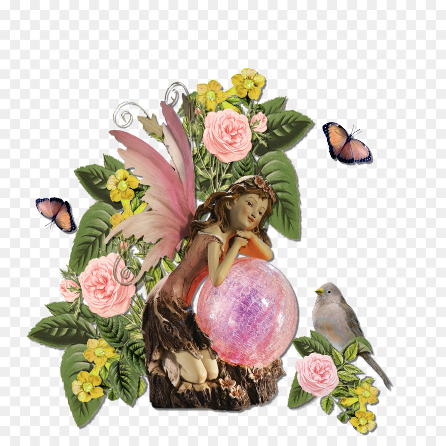 High-definition television Flower - HD Flower Fairy Flowers png download - 2400*2400 - Free Transparent Highdefinition Television png Download.