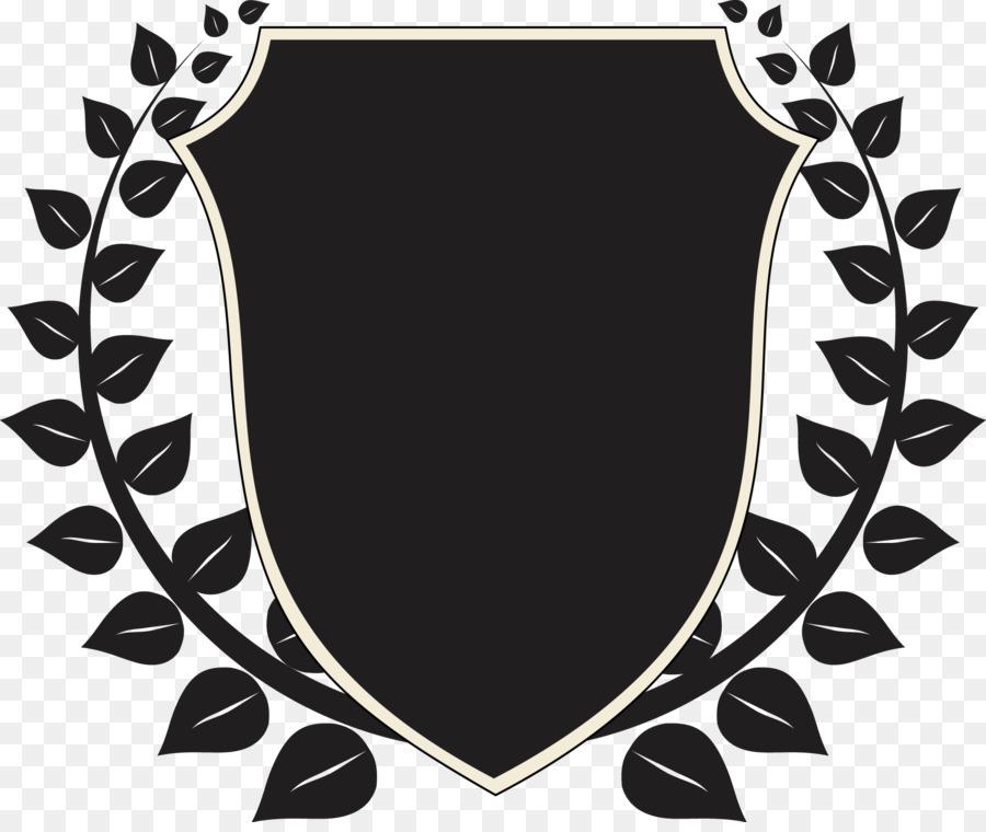 Laurel wreath Award Illustration - Shield png download - 1901*1587 ...