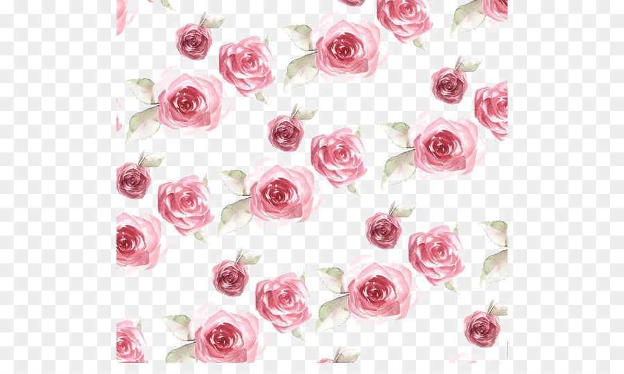 Paper rose flower pattern rose print png download 564524 free paper rose flower pattern rose print mightylinksfo