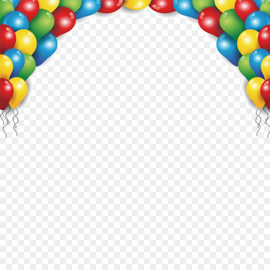 Tarjeta de Felicitación de cumpleaños Globo Cartel de la Fiesta ...