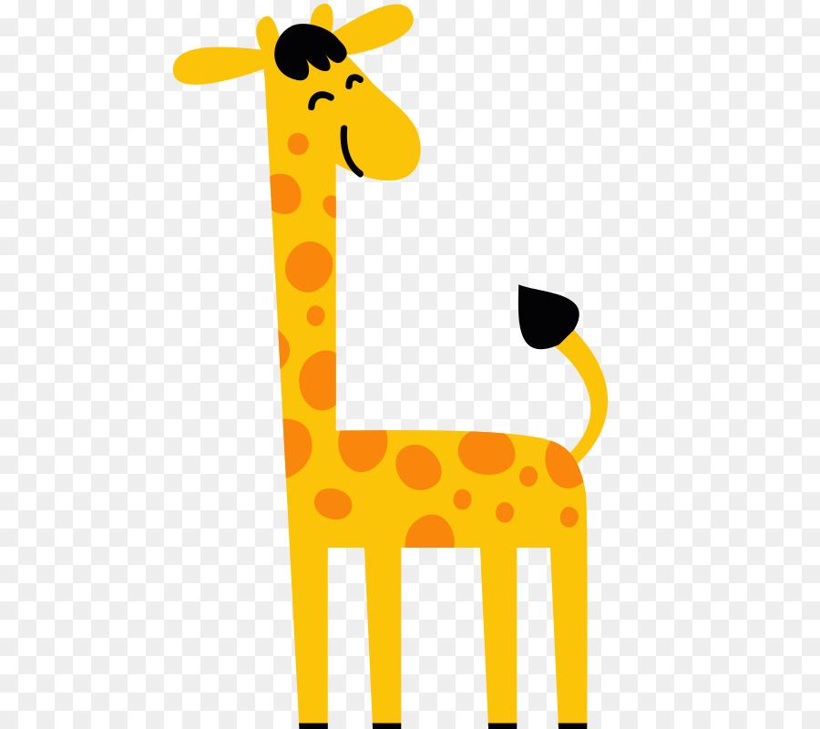 Utara Jerapah Kartun Jerapah Unduh Giraffidae Kuning Hewan