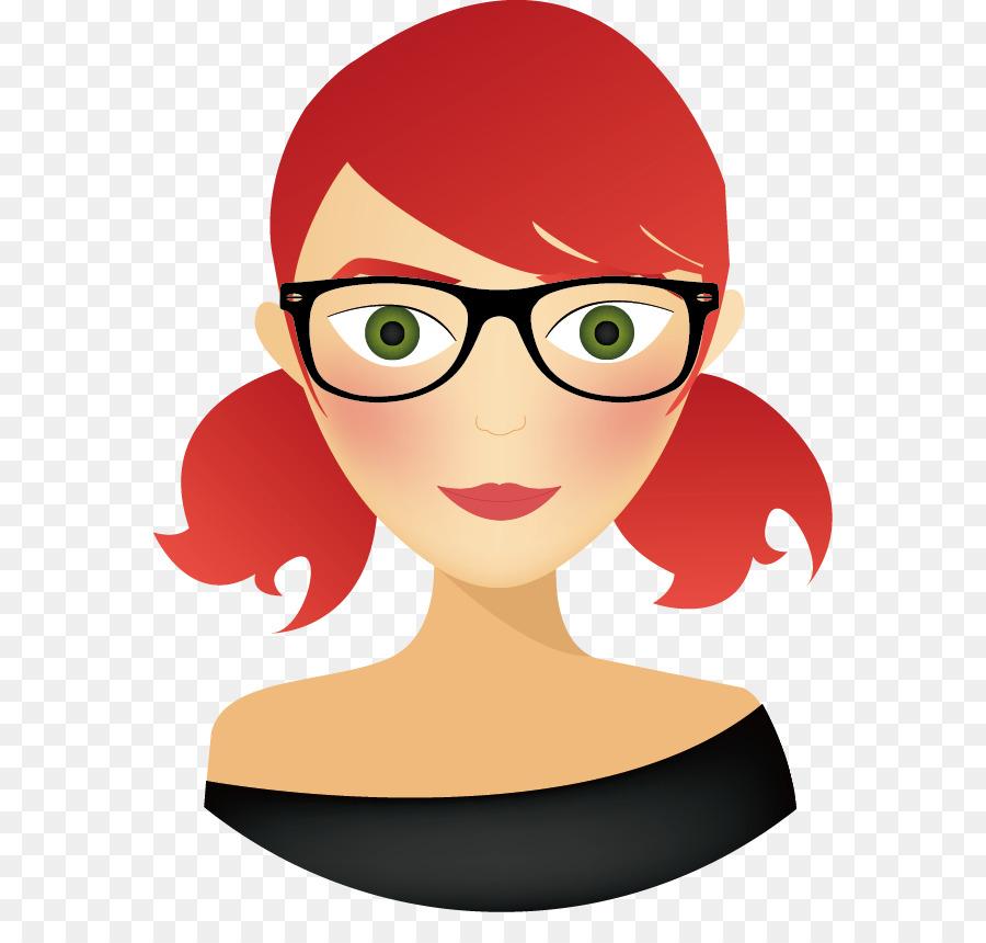 redhead female avatars Animated