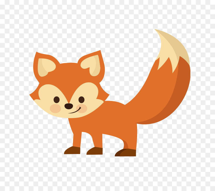 Cartoon Illustration Vector Sly Fox Png Download 800 800 Free