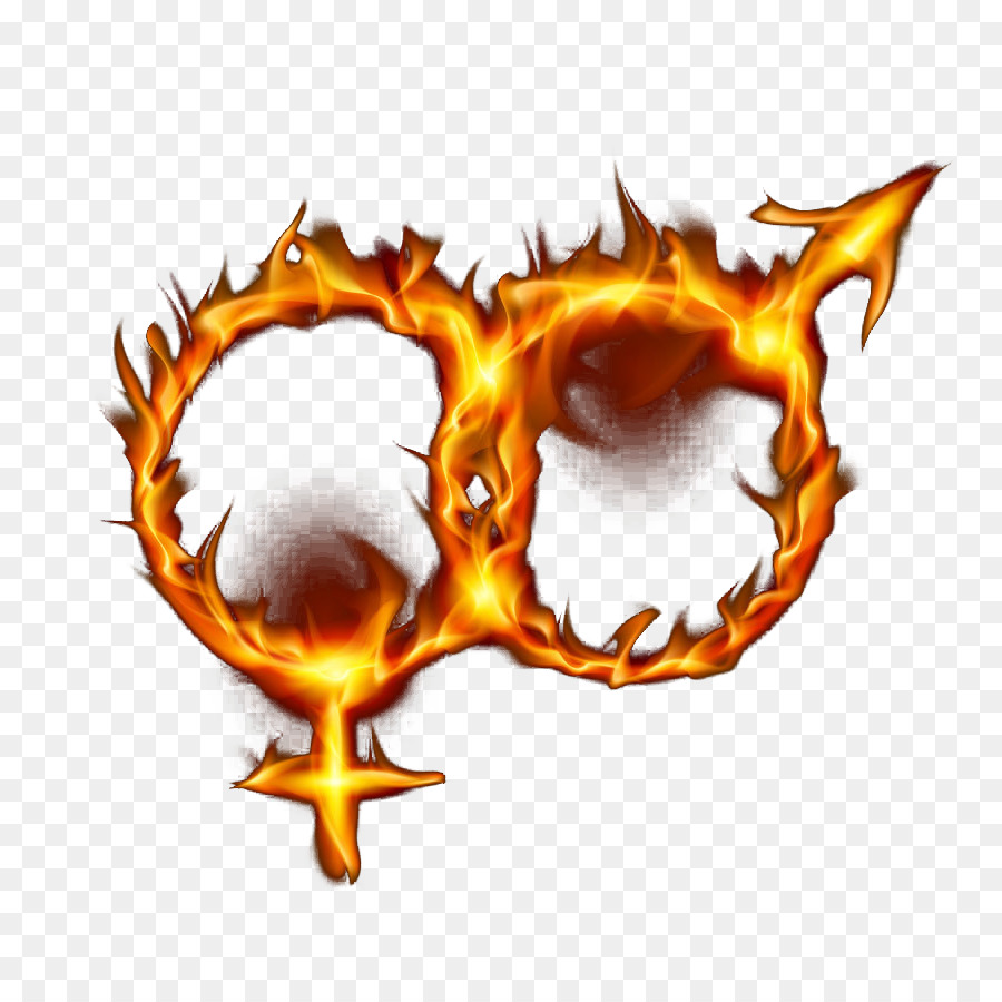 Flame Gender Symbol Fire Clip Art Male And Female Symbol Ring Of
