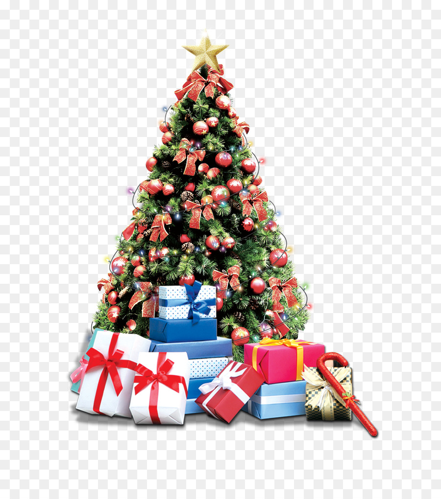 Christmas tree Gift Download - Christmas Gifts png download - 650 ...