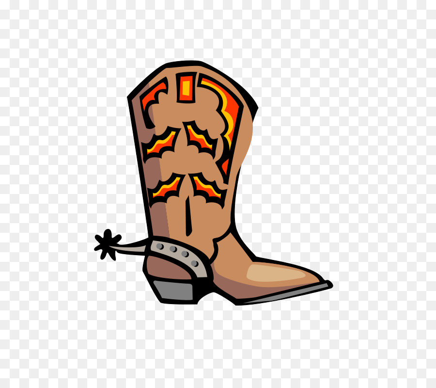 cowboy boot clip art brown cartoon pointed boots png download rh kisspng com western boots clipart cowboy hat boots clipart