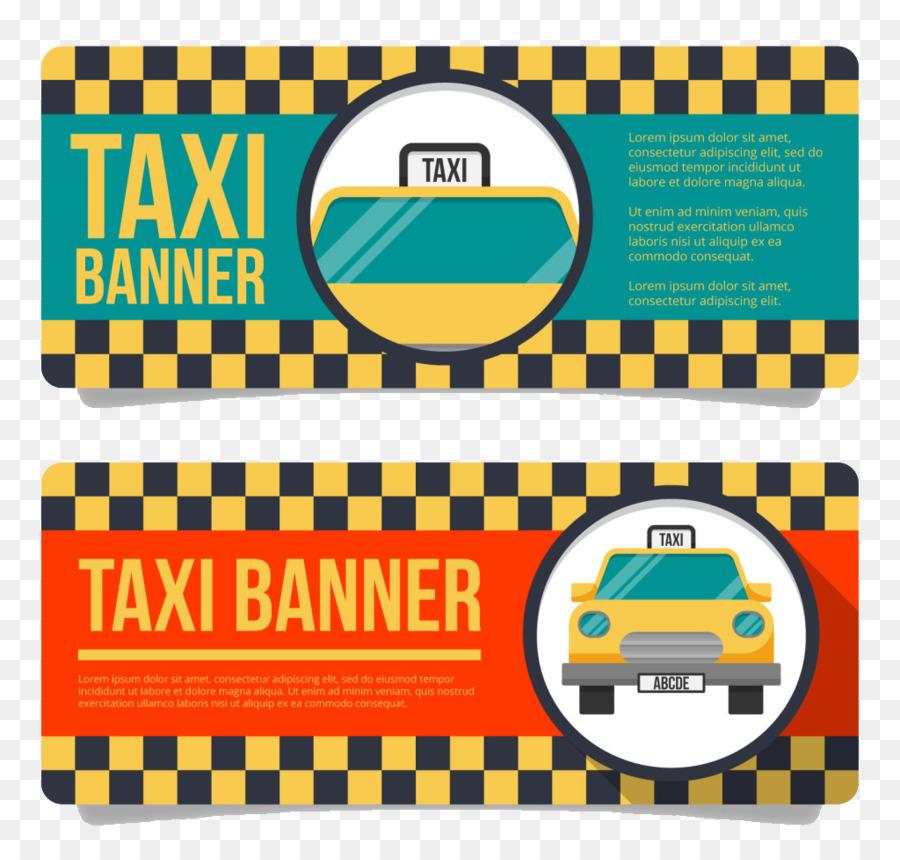 Taxi Banniere Carte De Visite