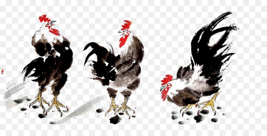 Tavuk U56fdu753bu96c6 çin Resim Mürekkep Yıkama Boyama Kuş Ve çiçek